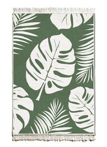 The Mia Kilim 180 x 120 Cm - Çift Taraflı Yeşil